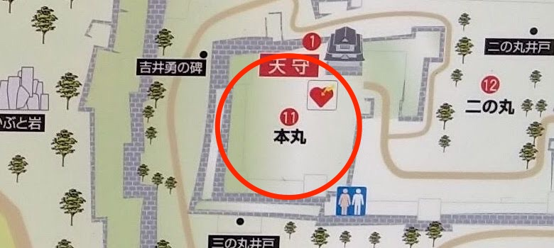 map-本丸