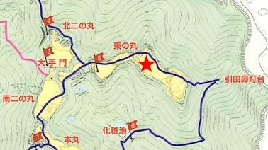 散策マップ、東の丸