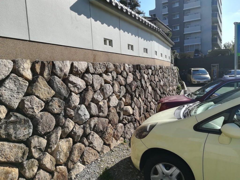 石垣・有岡城 惣構え西側