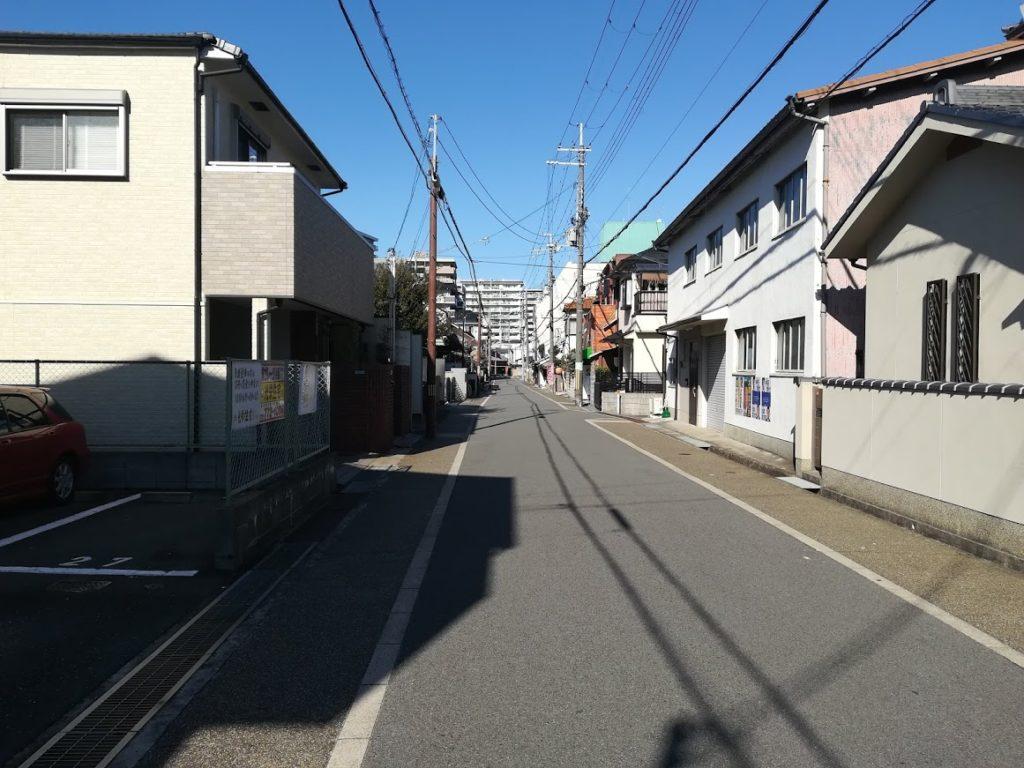 旧大坂道北方向