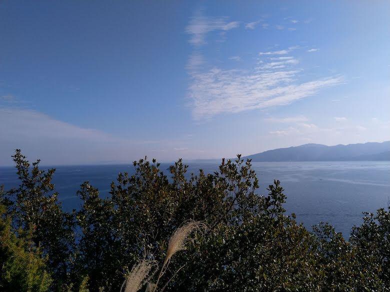 引田灯台からの眺め