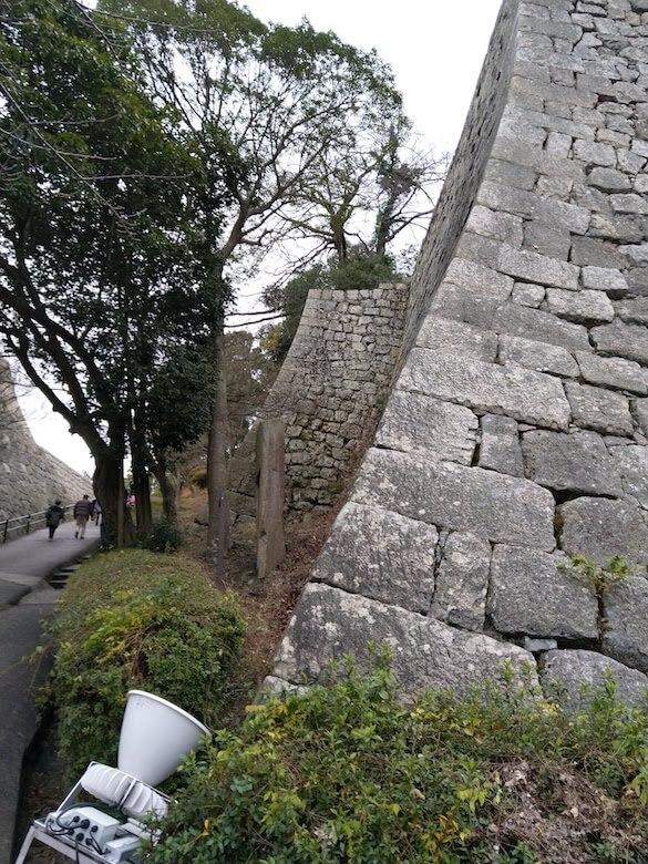 三の丸高石垣2