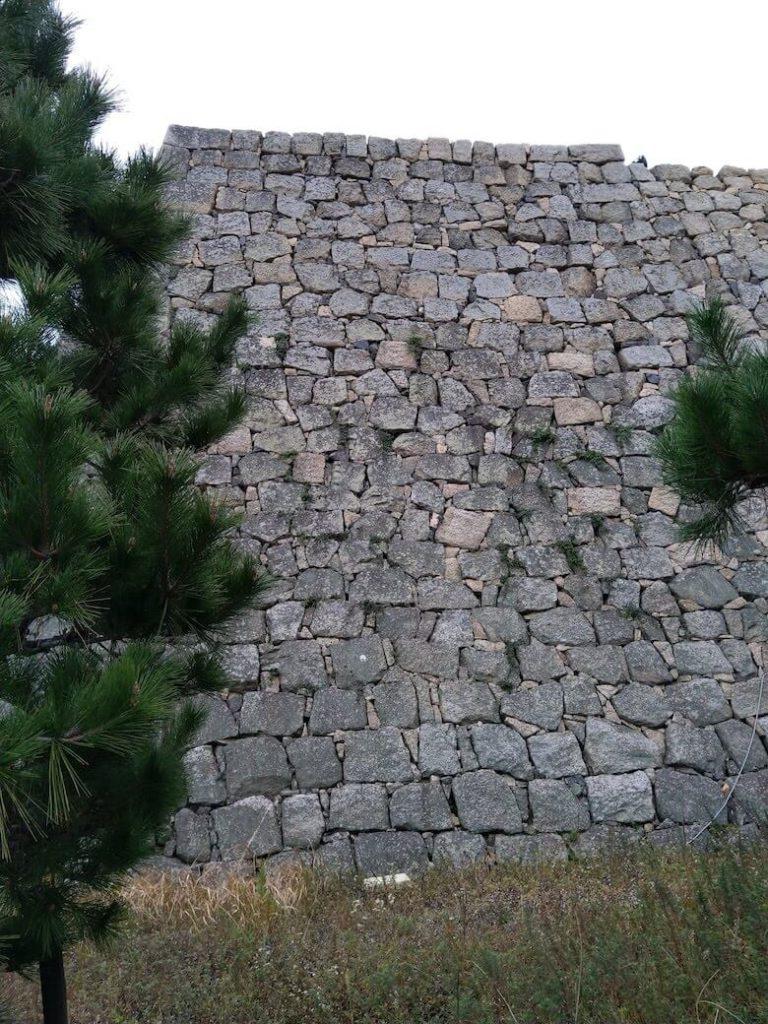 二の丸長崎櫓跡石垣