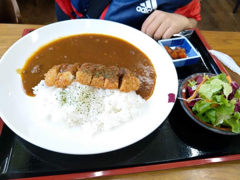 別子カツカレー(1,080円)