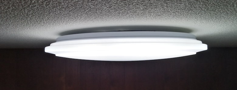 LED照明設置完了