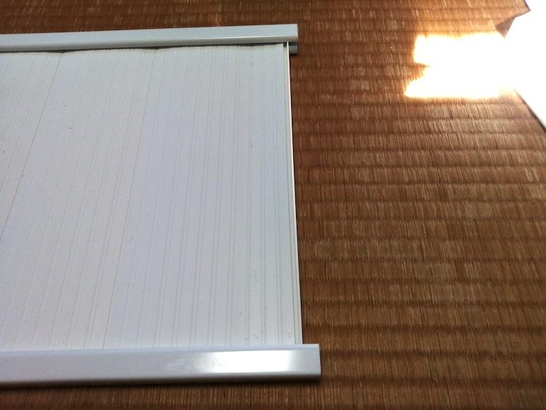 東芝 窓用換気扇 VRW-20X2のパネルのはめ方