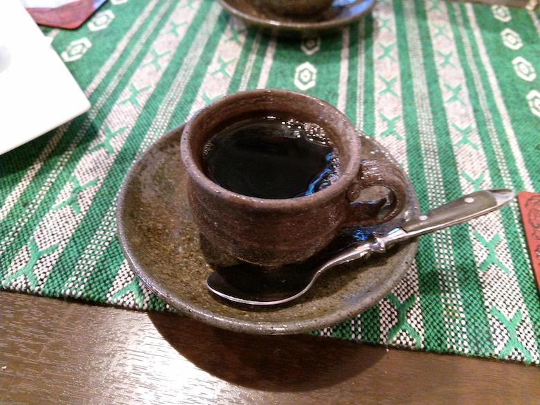 すてーき食堂アチチのランチ(コーヒー)