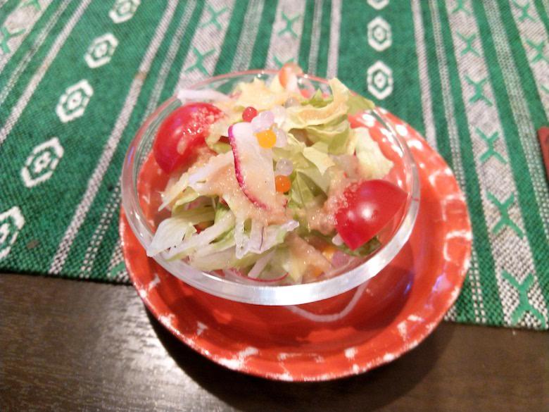 すてーき食堂アチチのランチ(サラダ)