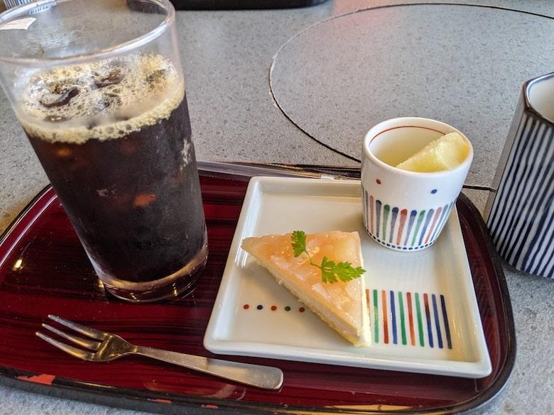 デザートセット アイスコーヒー・夏季限定夏雲:330円