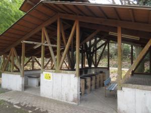大麻山キャンプ場の炊事場